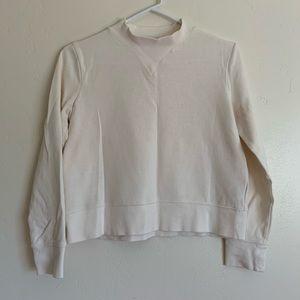 Mile(s) by Madewell Offline Mockneck Sweatshirt